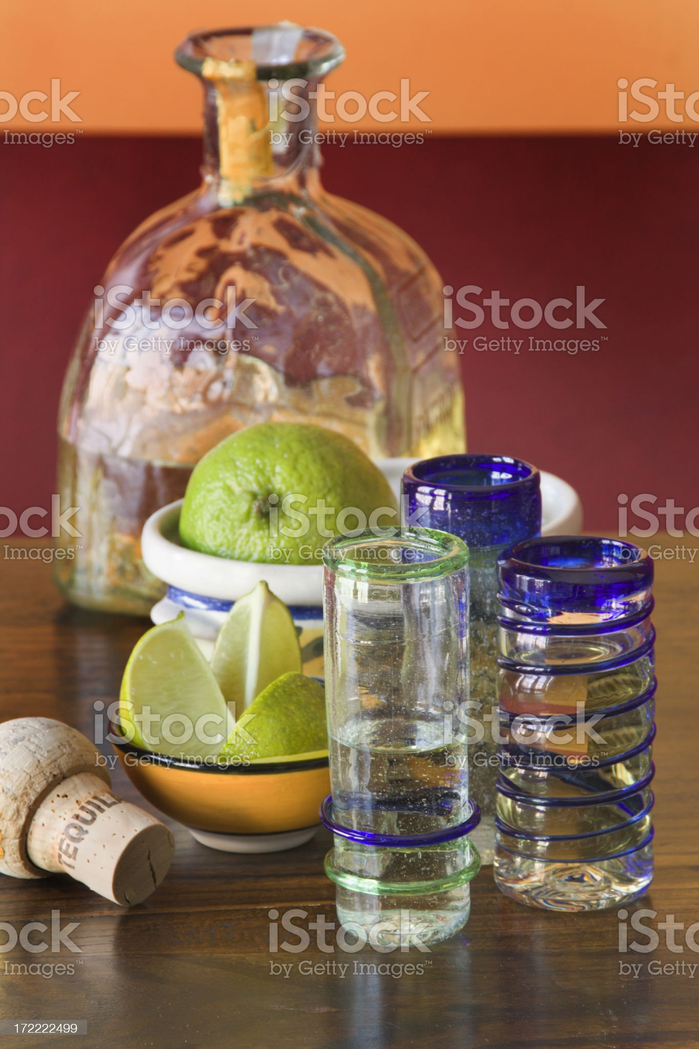 Mexican Tequila Bar Vt royalty-free stock photo