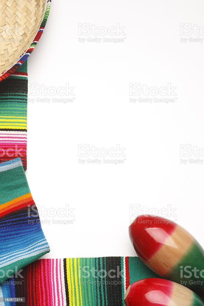 Mexican Theme royalty-free stock photo