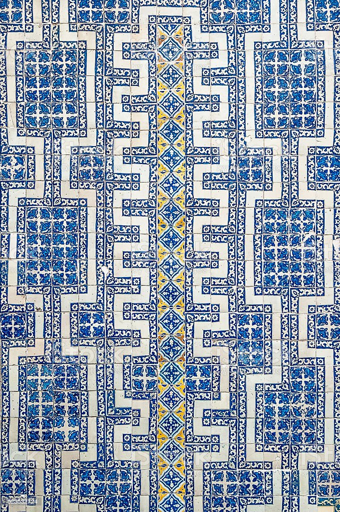 Mexican tile background stock photo
