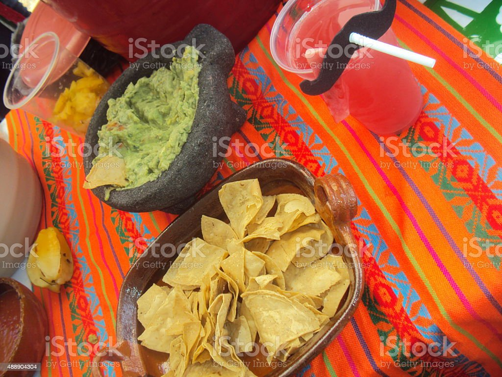 Mexican typical food stock photo