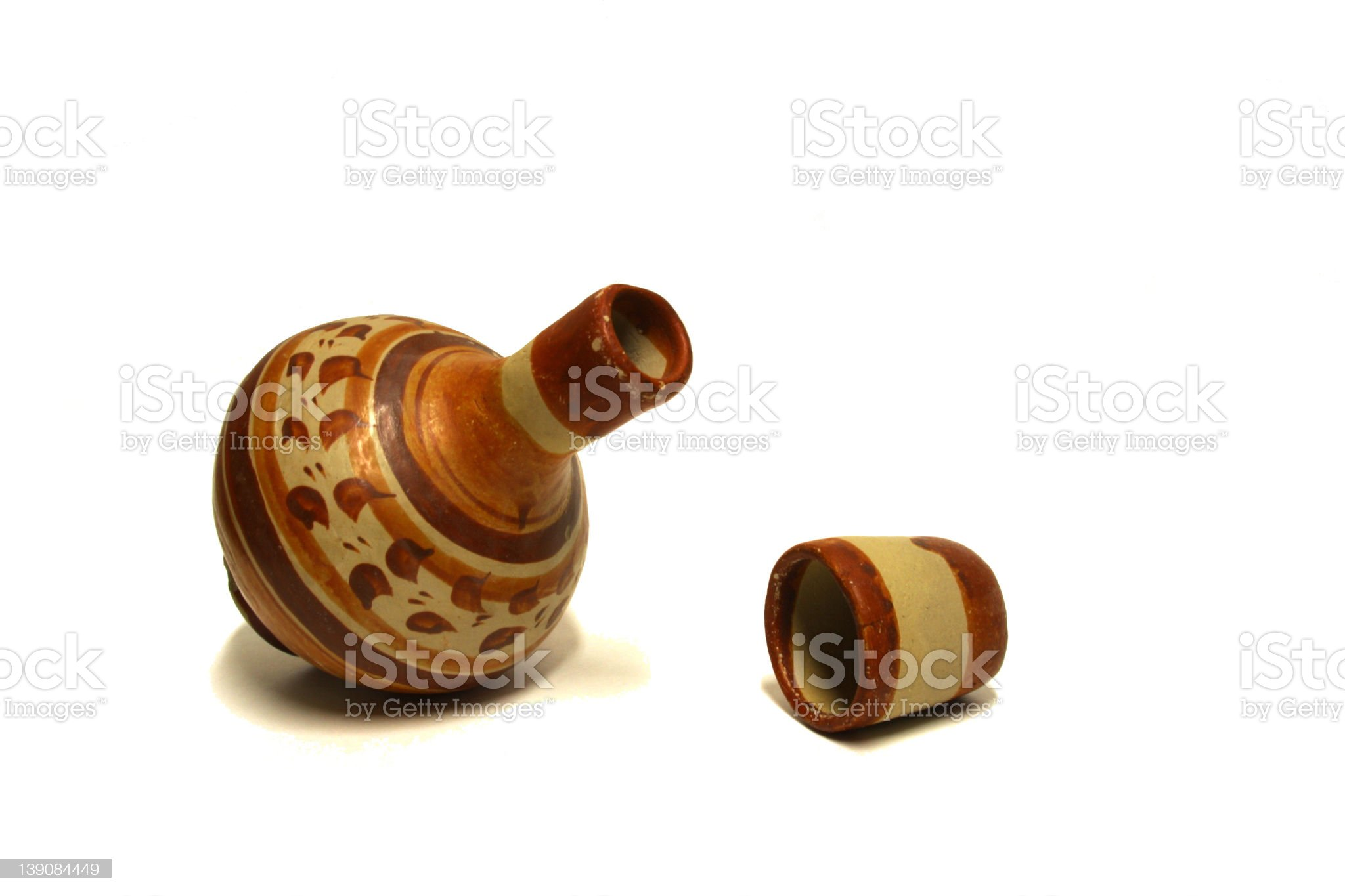 Mexican Vase royalty-free stock photo
