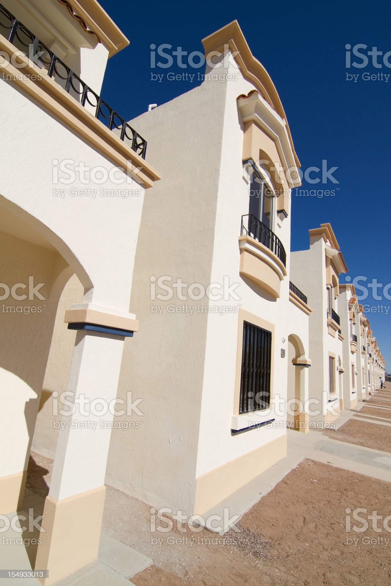 Mexican Villas royalty-free stock photo