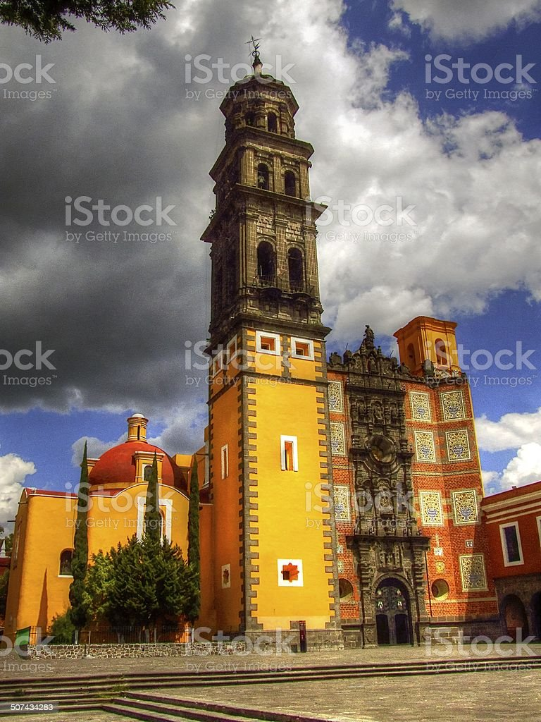 Mexico Chapels - Travel Sites stock photo