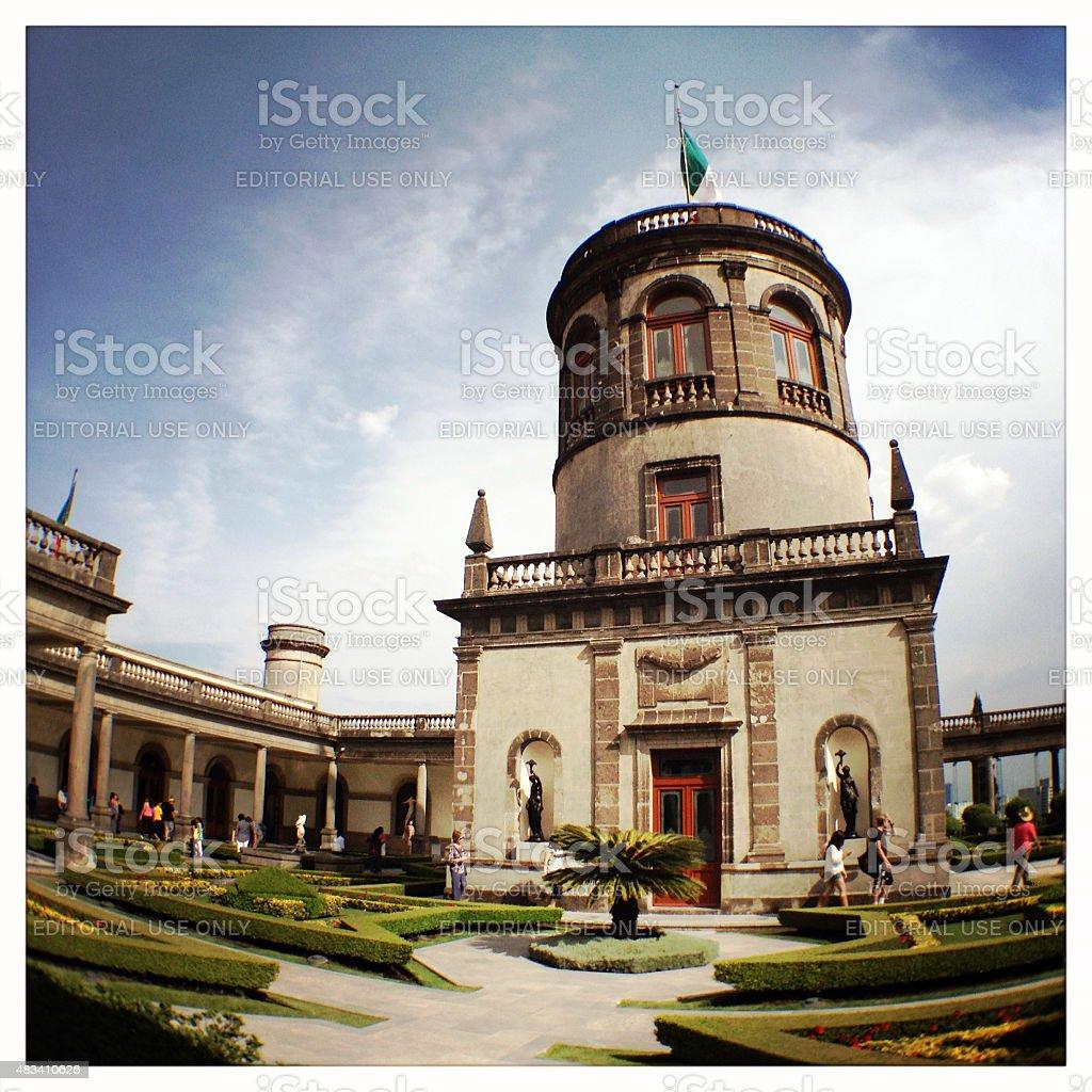 Mexico City, Chapultepec Castle stock photo