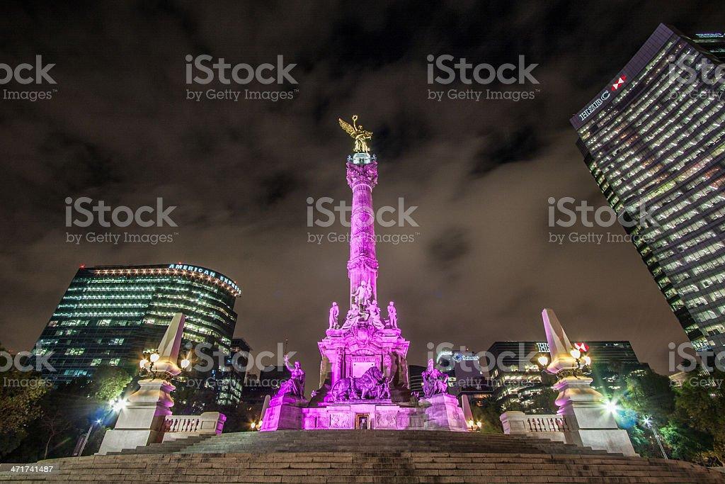 Mexico City downtown stock photo