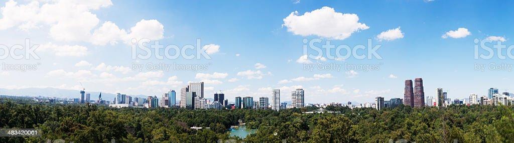 Mexico city stock photo