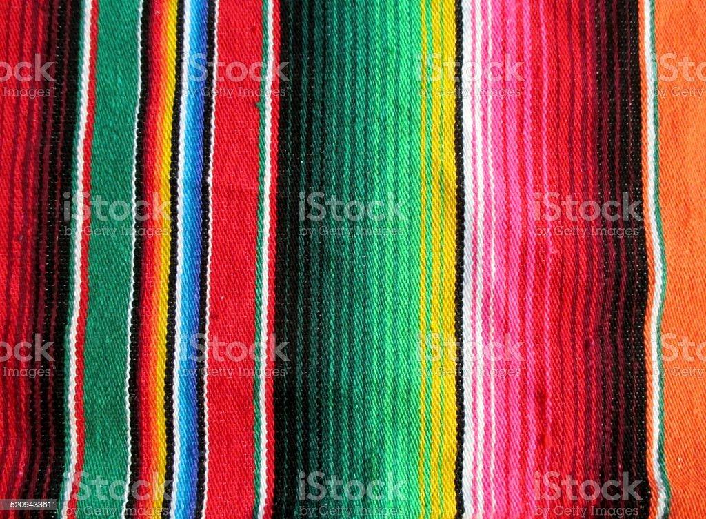 Mexico Fiesta rug background stock photo
