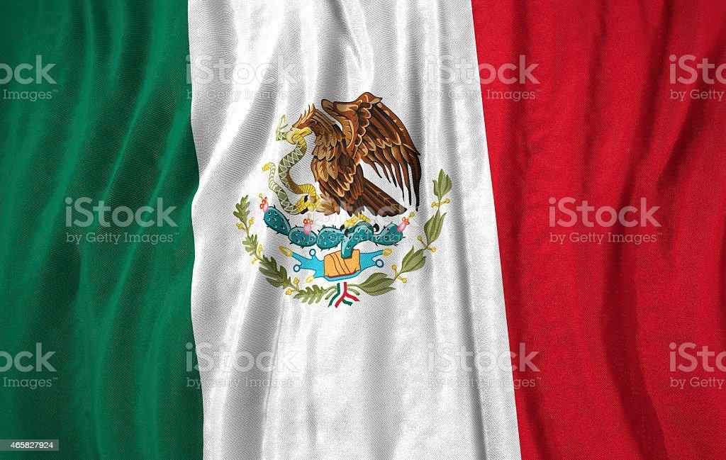 Mexico flag 3D illustration stock photo