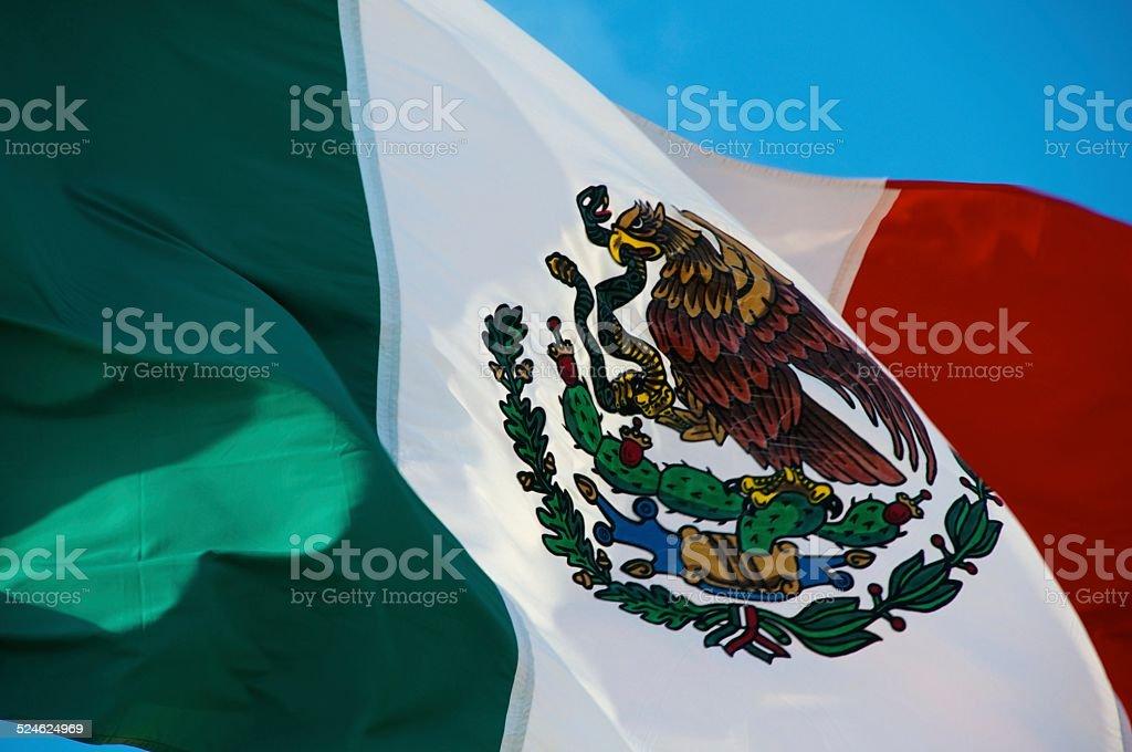 Mexico Flag stock photo