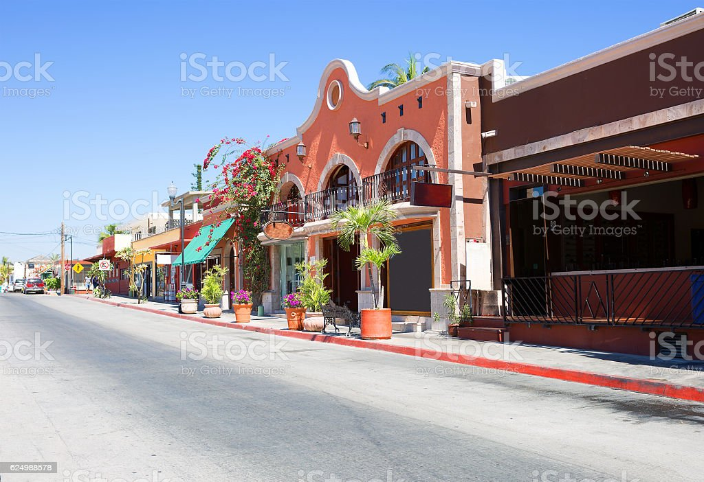 Mexico. In Cabo San Lucas. stock photo