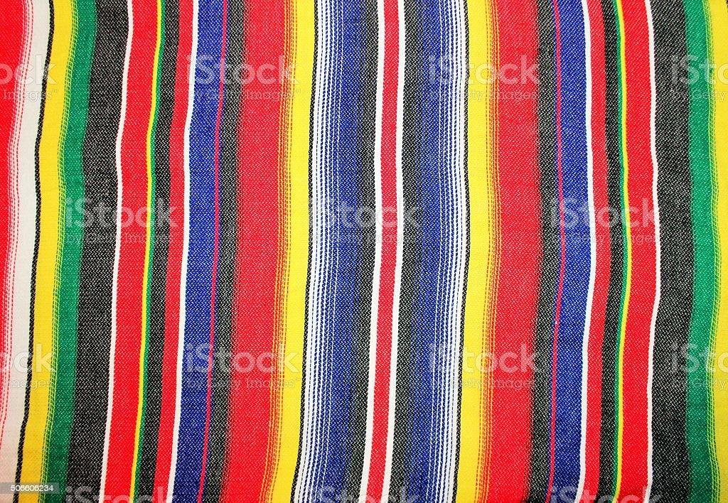 Mexico poncho serape fiesta background stock photo