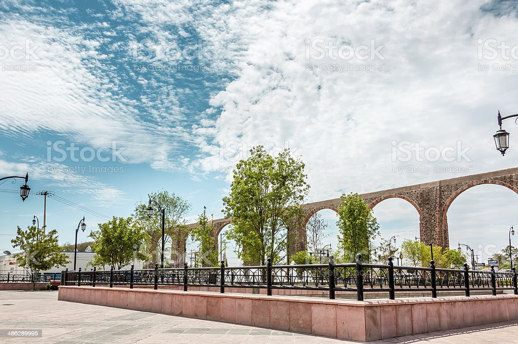 Mexico , Queretaro Landmark stock photo