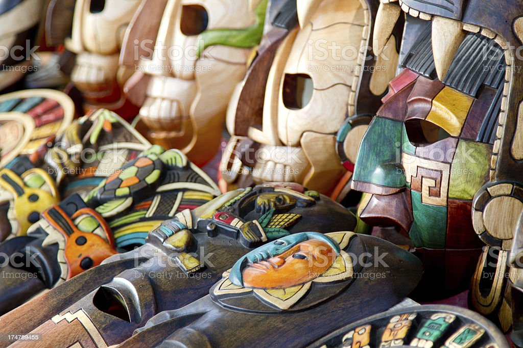 Mexico  souvenir market stock photo