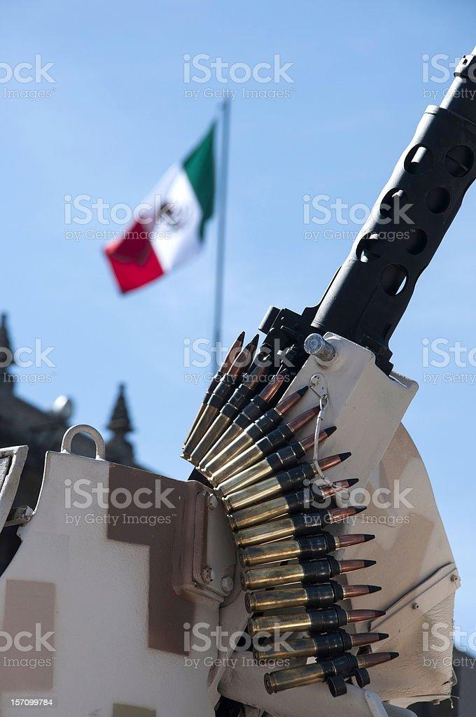 Mexico's Drug War stock photo