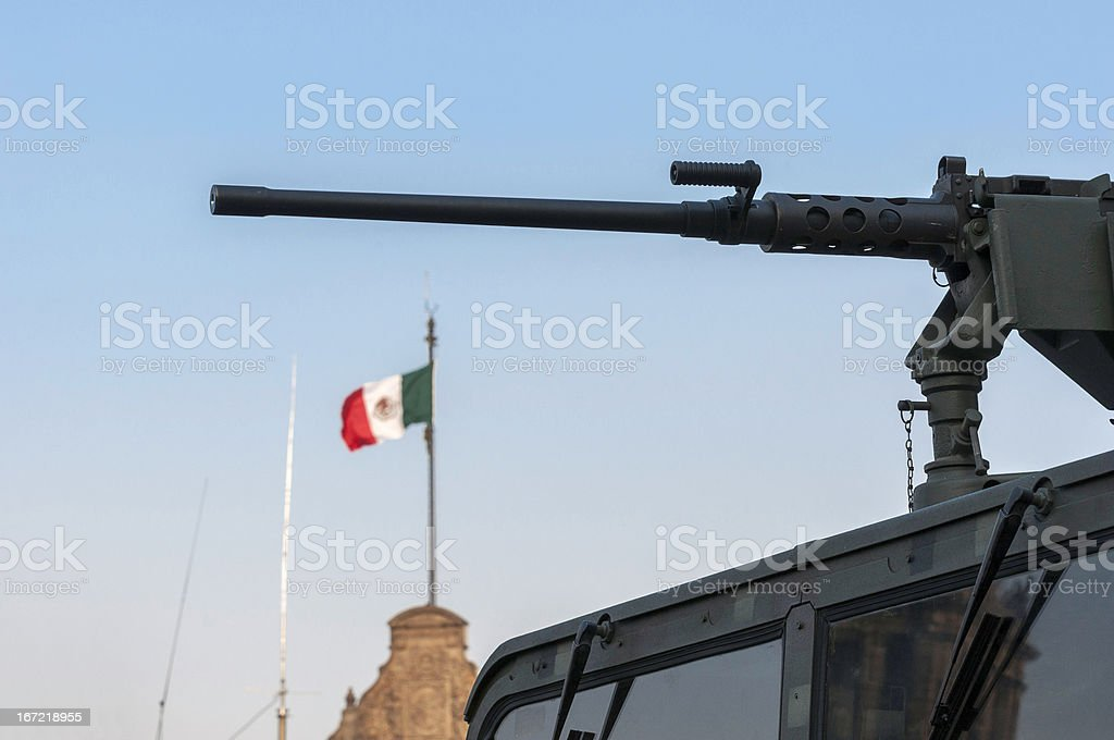 Mexico's Drug War royalty-free stock photo