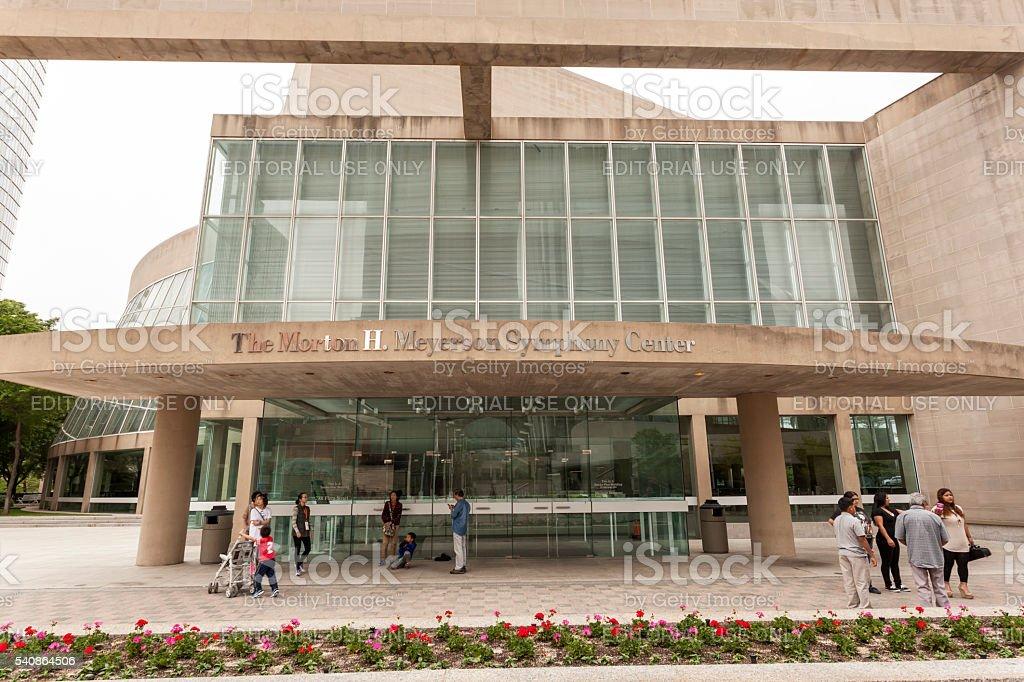 Meyerson Symphony Center, Dallas stock photo