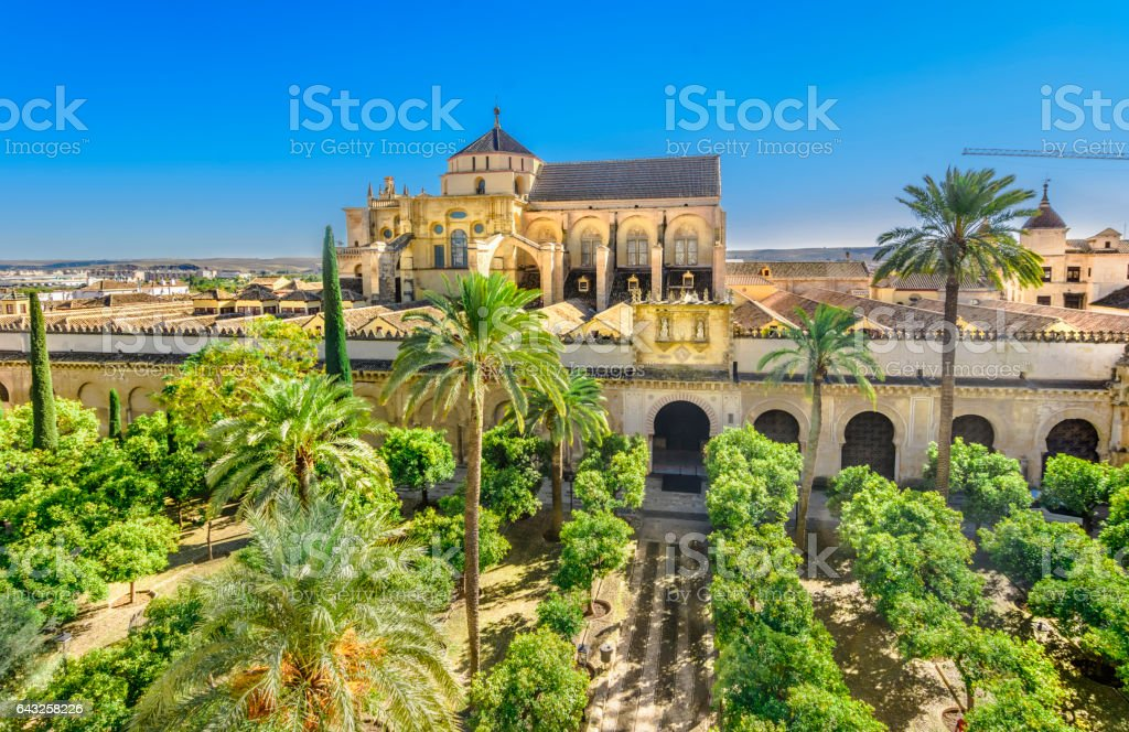 Mezquita Cathedral, Cordoba, Andalusia, Spain stock photo