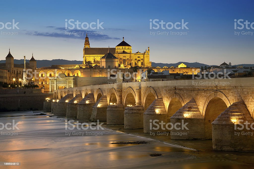 Mezquita Cathedral, Cordoba, Spain royalty-free stock photo