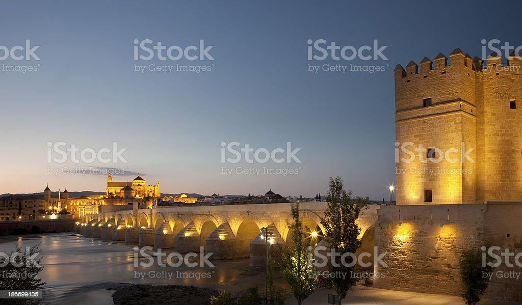 Mezquita Cathedral, Cordoba, Spain royalty-free stock photo