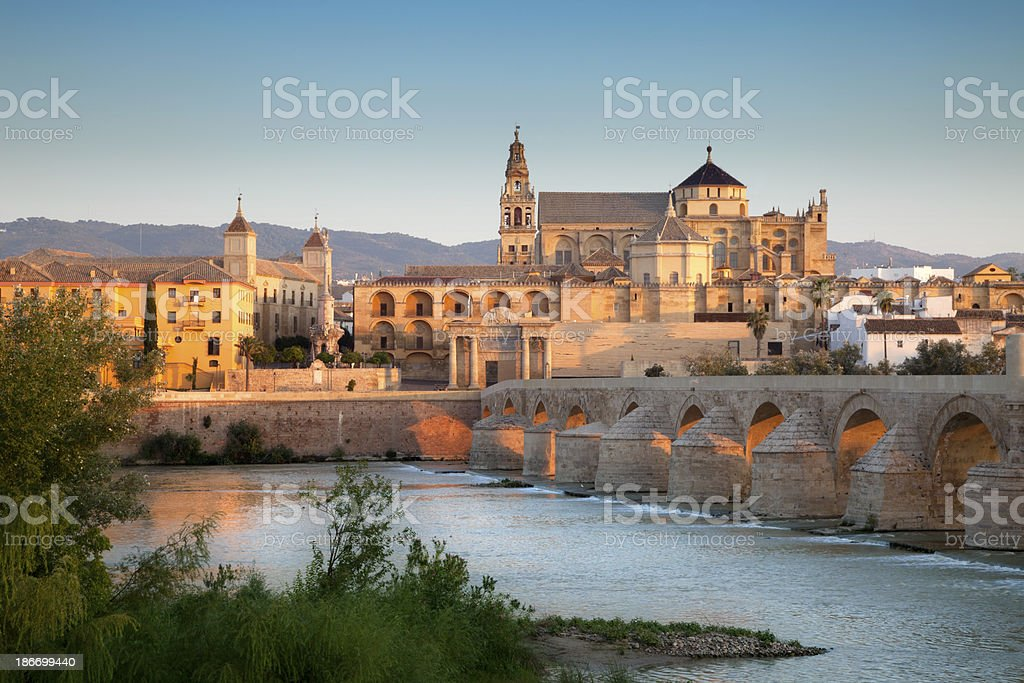 Mezquita Cathedral, Cordoba, Spain stock photo