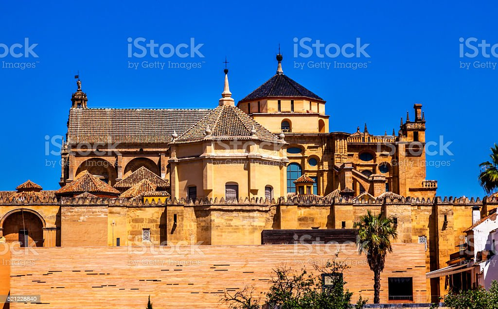 Mezquita Catholic Cathedral Cordoba Spain stock photo