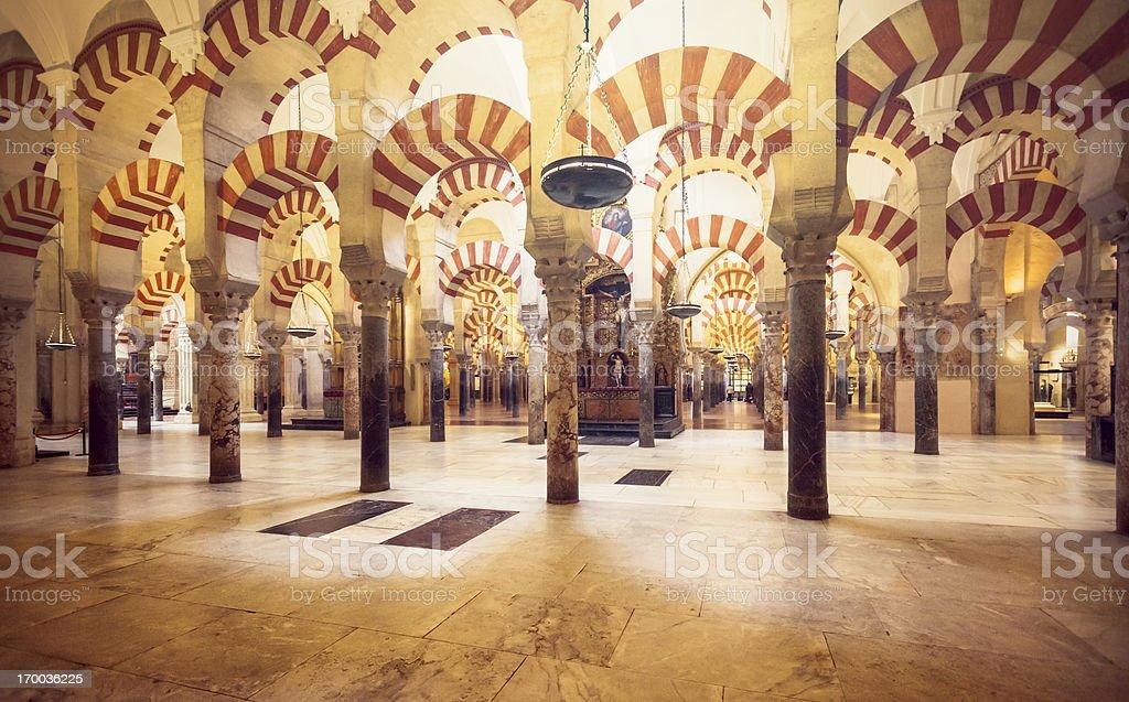 Mezquita de Cordoba royalty-free stock photo
