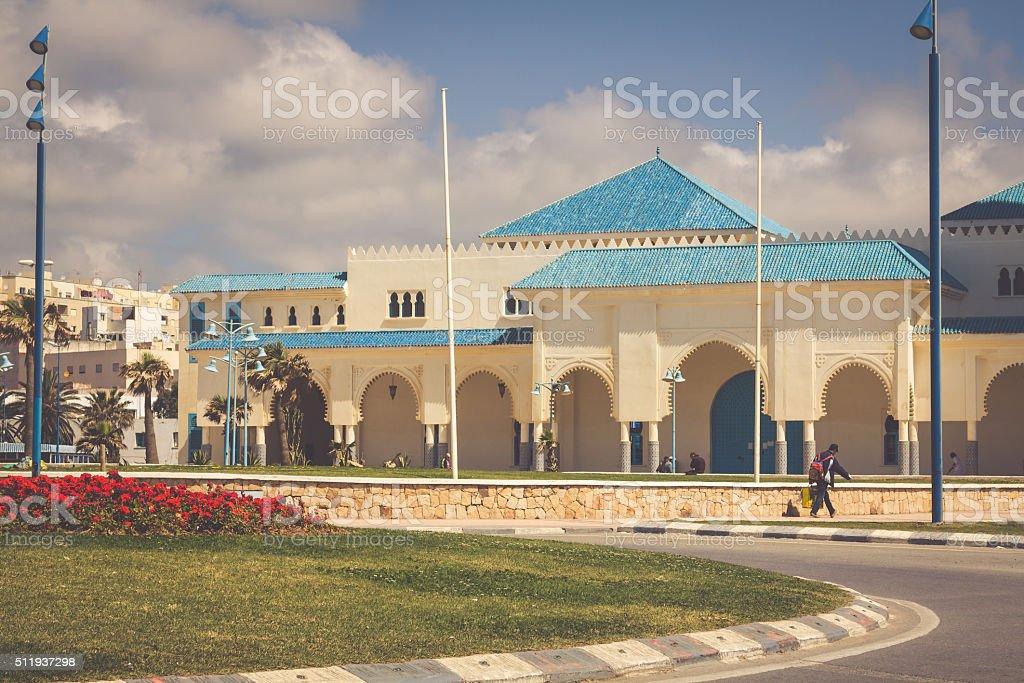 Mezquita de Fnideq, Morocco, Africa stock photo