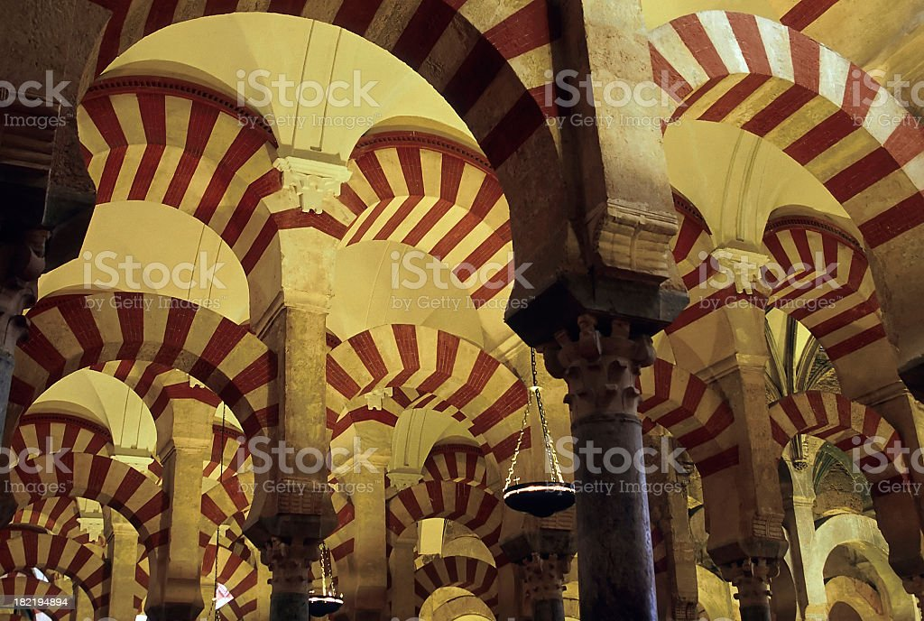 Mezquita of Cordoba, Spain royalty-free stock photo
