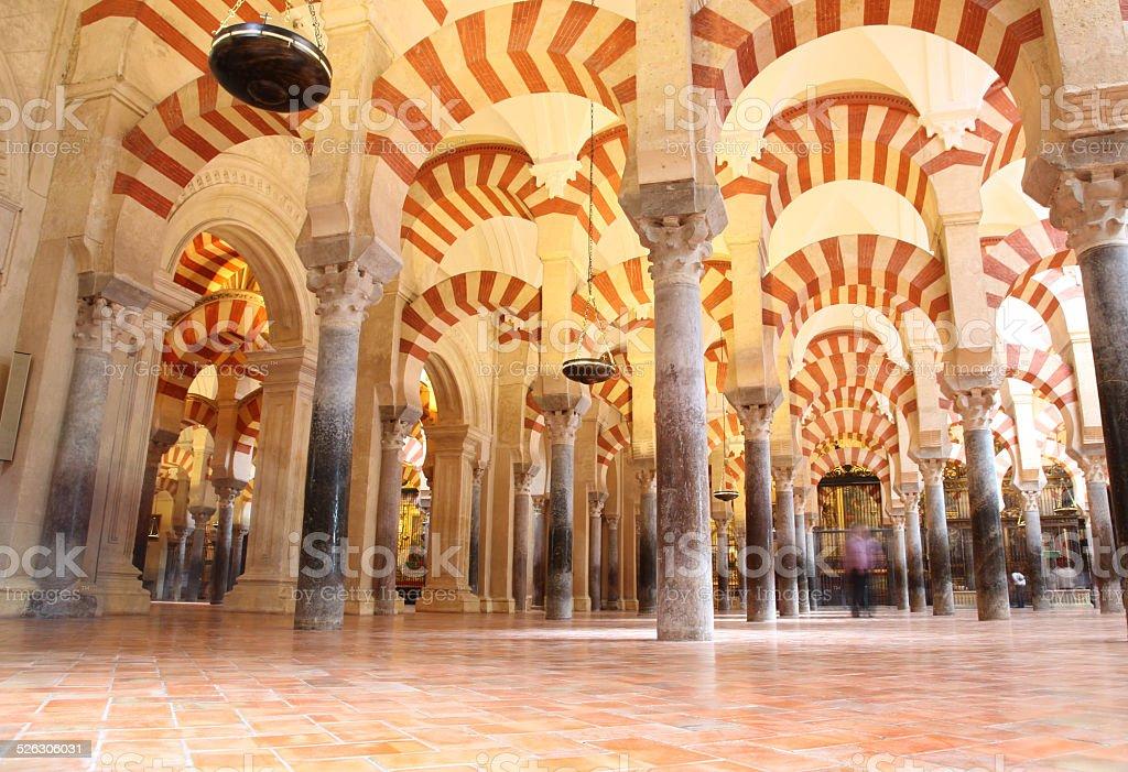 Great Mosque Mezquita Famous Interior Cordoba Stock Photo 76490830 ...