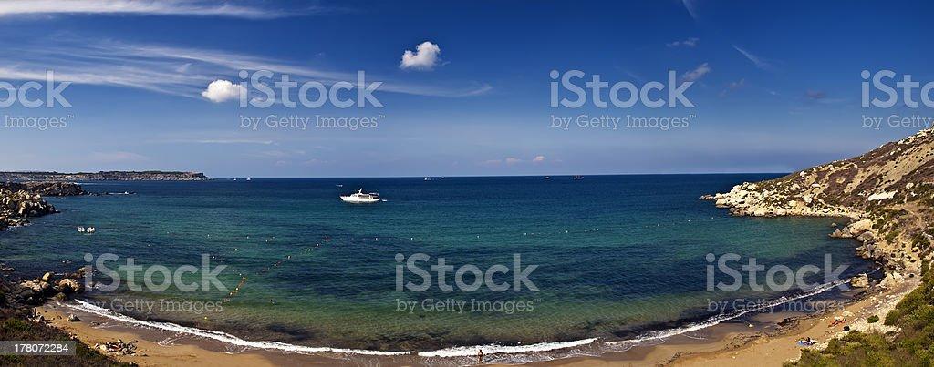 Mgiebah Bay royalty-free stock photo