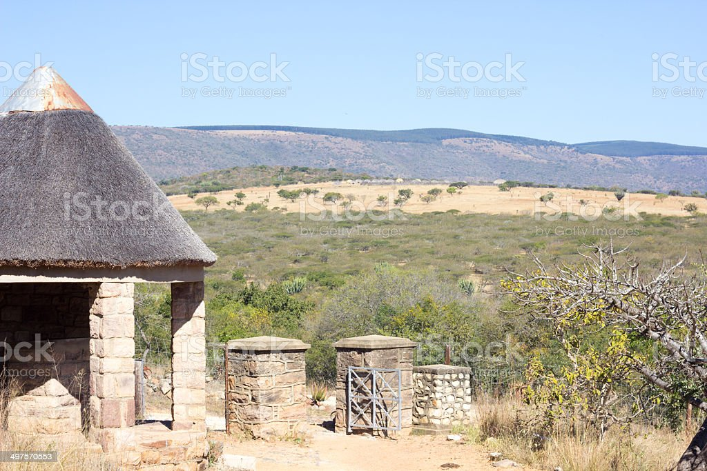 Mgungundlovu in KwaZulu-Natal, South Africa stock photo