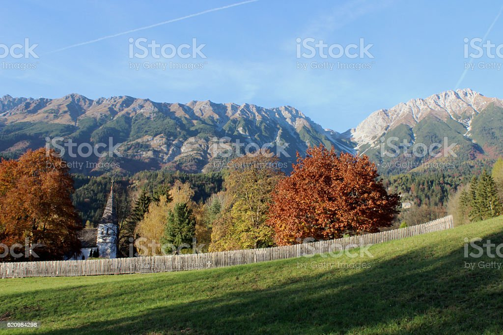 mühlau stock photo