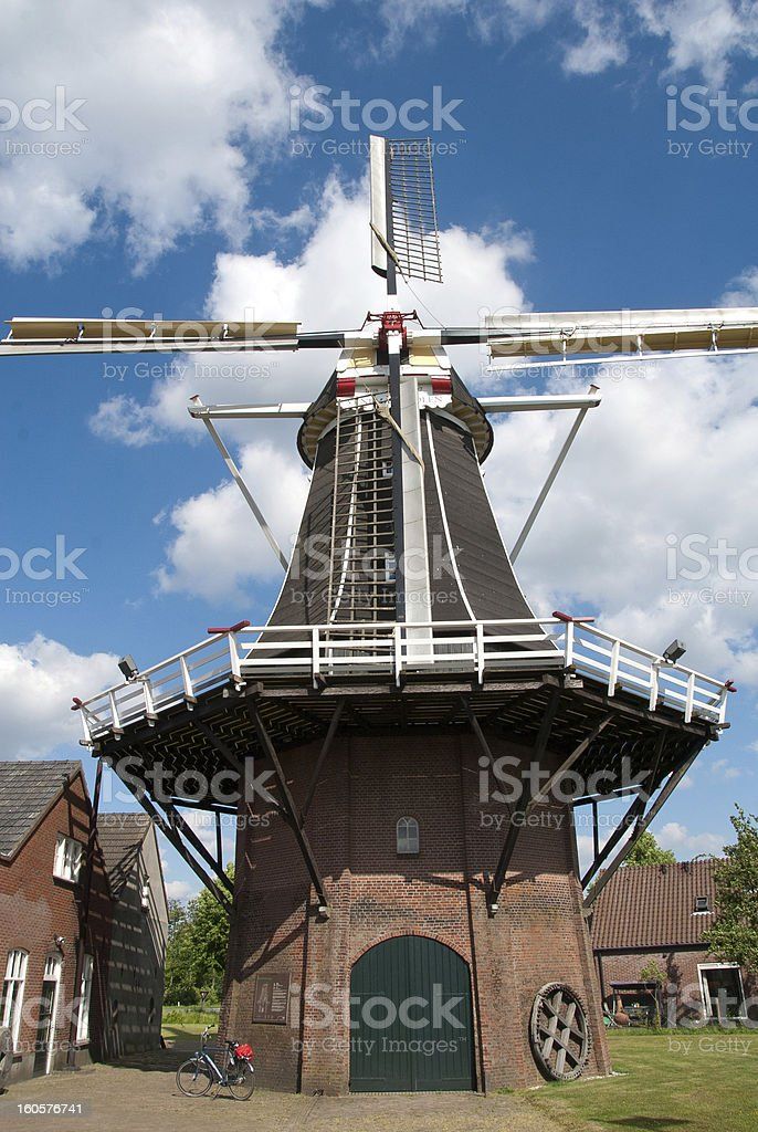 M?hle in Holland royalty-free stock photo