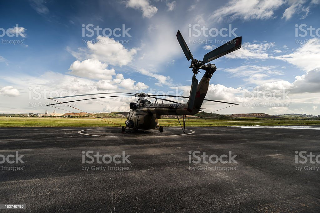 Mi-17 Helicopter royalty-free stock photo