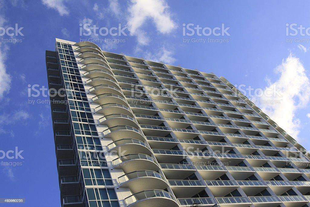 Miami-Architektur Lizenzfreies stock-foto