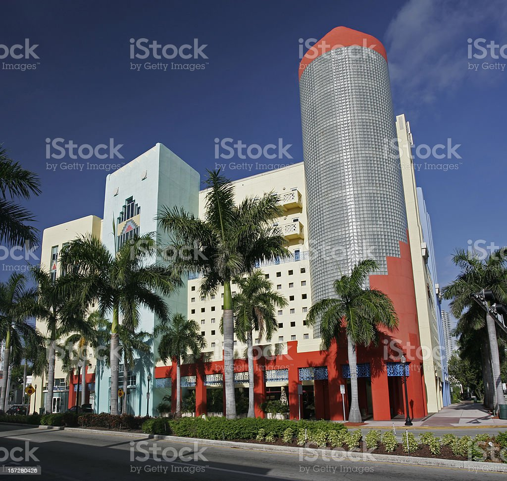 Miami Beach Building royalty-free stock photo