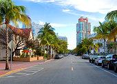 Miami Beach. Collins Avenue.