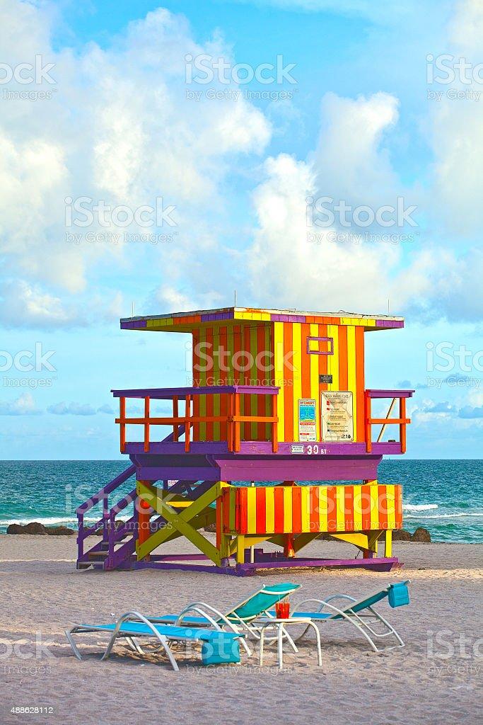Miami Beach Florida, USA stock photo