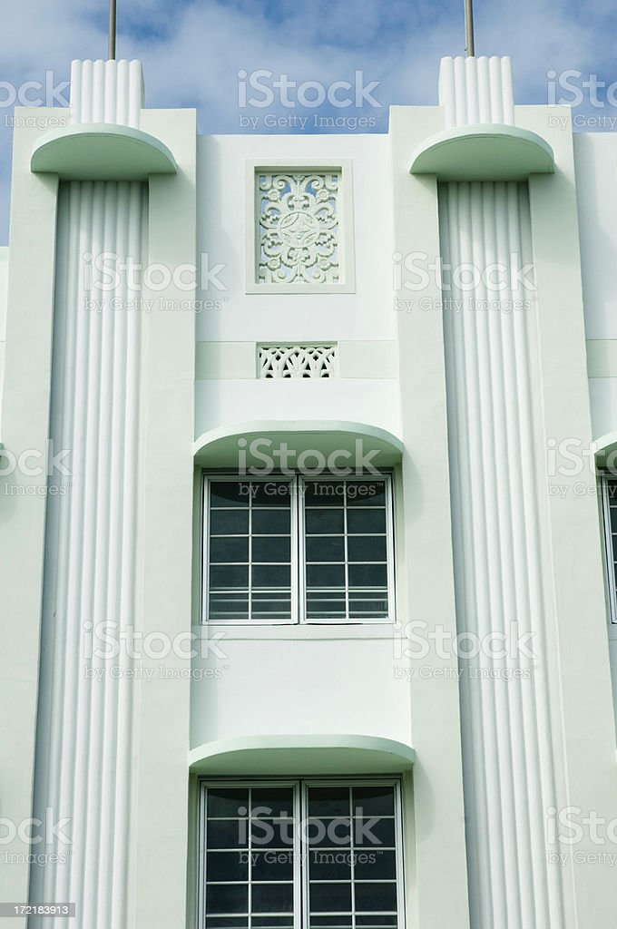 Miami Beach House royalty-free stock photo