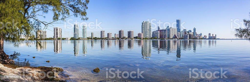 Miami Brickell View stock photo