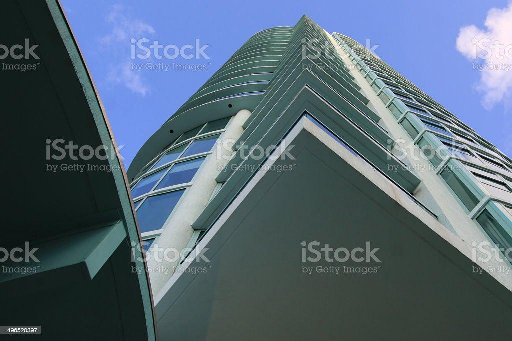 Miami Bauwerke Architektur Lizenzfreies stock-foto