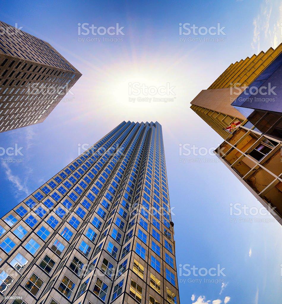 Miami buildings stock photo