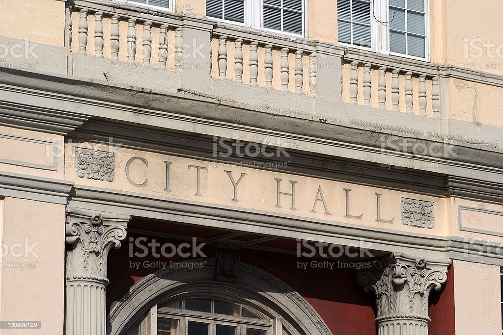 Miami City Hall stock photo