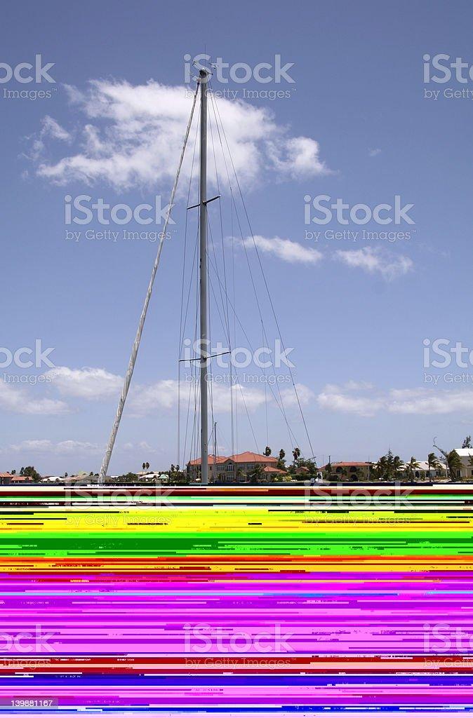 Miami Coast royalty-free stock photo