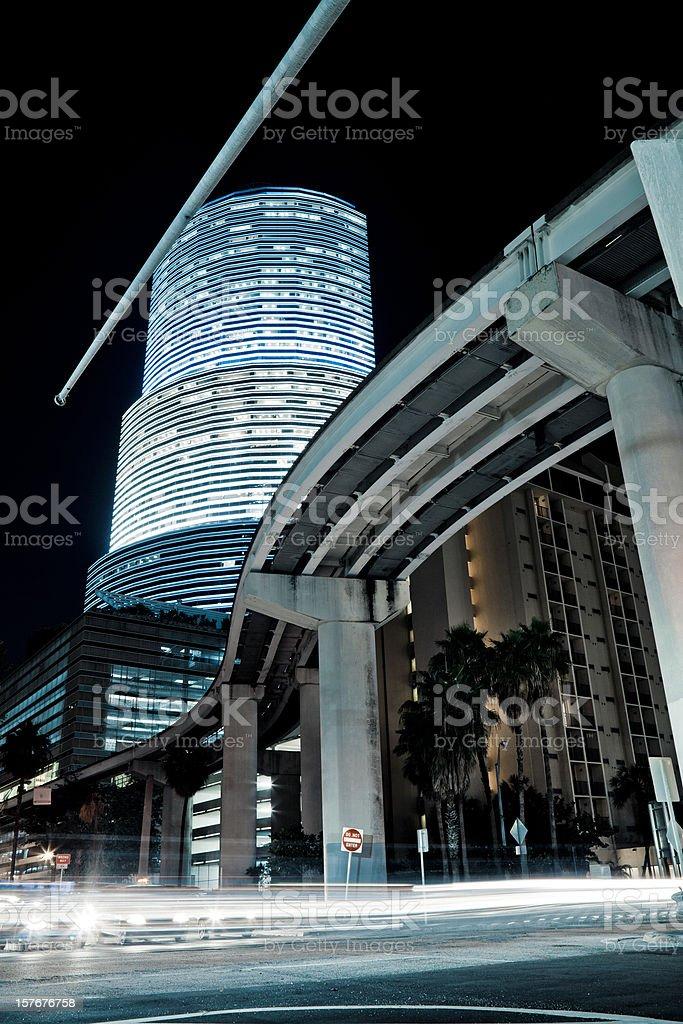 MIami Dow town stock photo