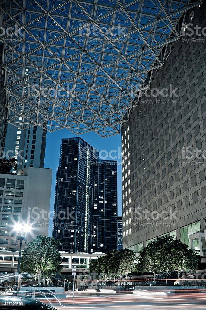 Miami Downtown stock photo