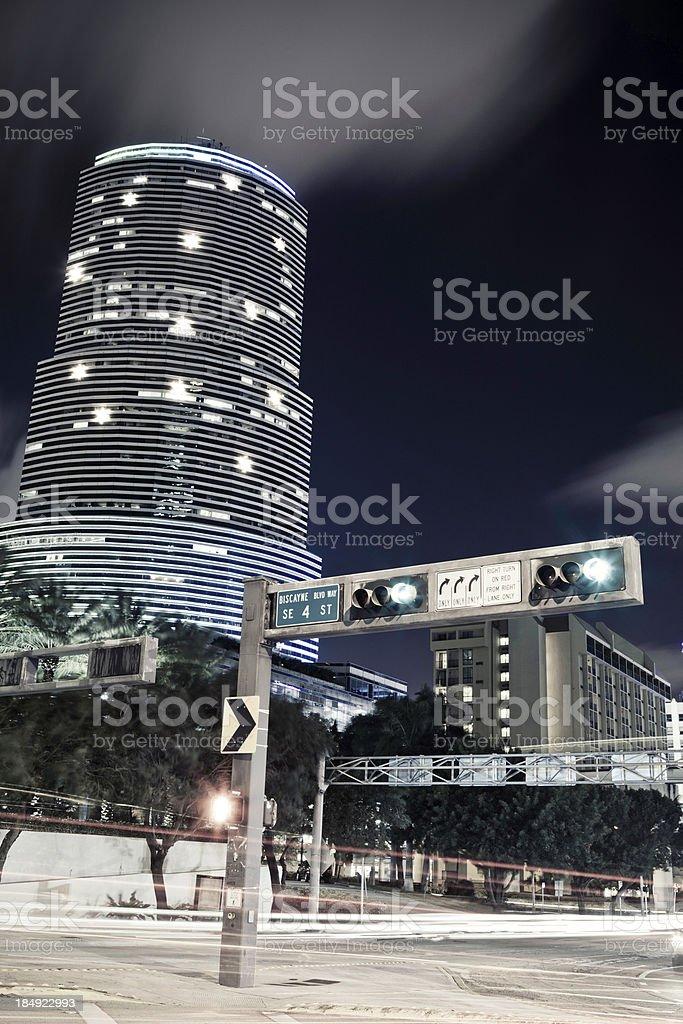 Miami Downtown royalty-free stock photo