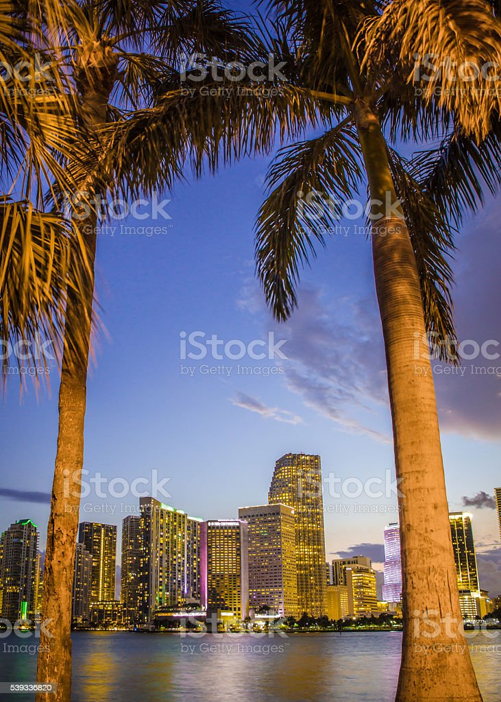 Miami Florida stock photo