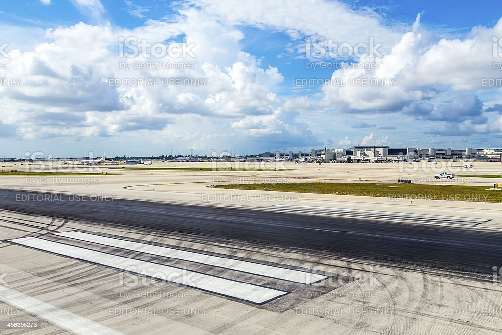 Miami international Airport royalty-free stock photo