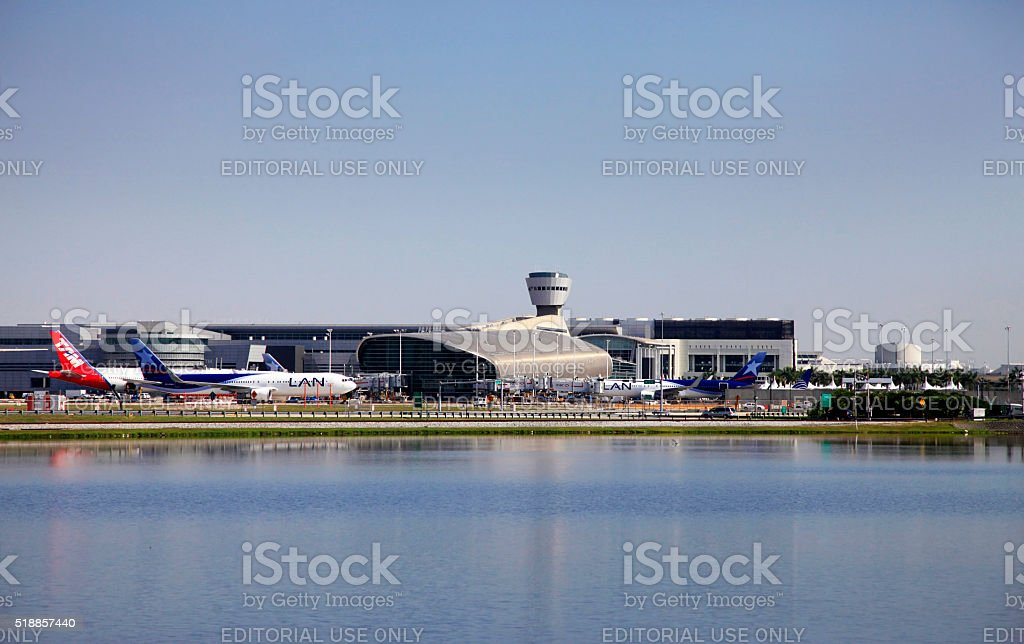 Miami International Airport stock photo